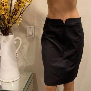 Elie tahari black skirt Sz 6
